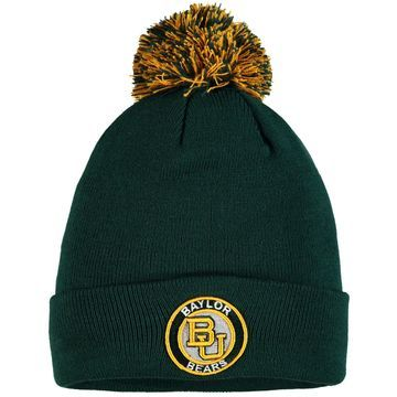 Baylor Bears Zephyr Seal Cuffed Knit Hat - Green