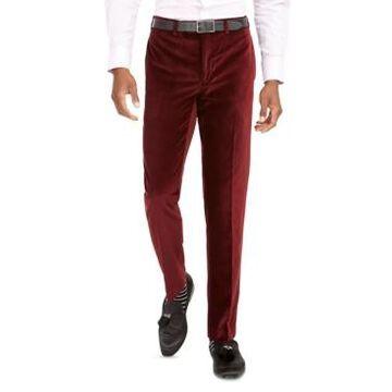 Tallia Men's Slim-Fit Velvet Pants
