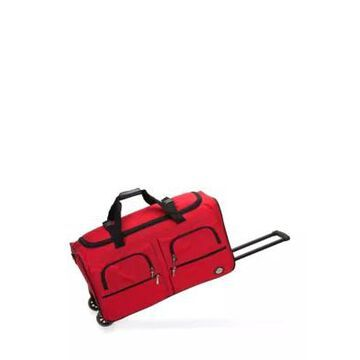Rockland 36-Inch Rolling Duffle In Red -