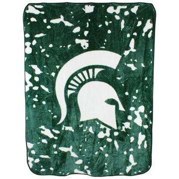 College Covers NCAA Michigan State Throw Blanket
