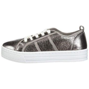 Qupid Womens maniac Low Top Lace Up Fashion Sneakers