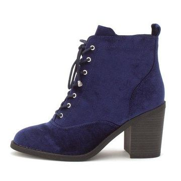 Material Girl Womens Landrey Almond Toe Ankle Fashion Boots