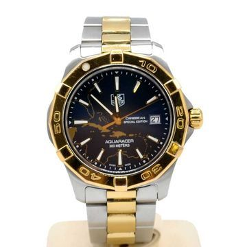 Tag Heuer Aquaracer Silver gold and steel Watches