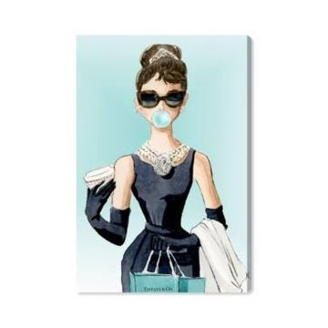 Oliver Gal Bubble Gum Jewelry Canvas Art - 15