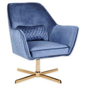LumiSource Diana Office Chair in Blue