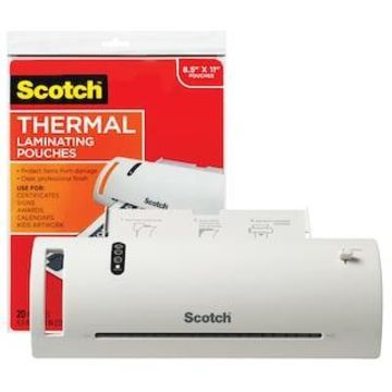 Scotch Thermal Laminator & Pouches Combo Pack