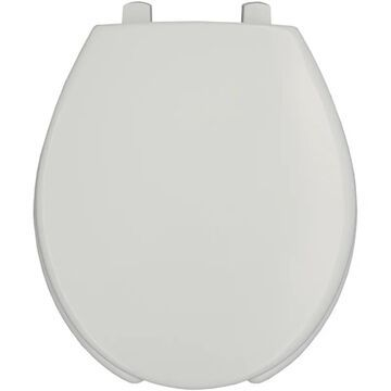 Bemis 3L2050T Medic-Aid& Round Plastic Open Front Toilet Seat with STA-TITE& DuraGuard& and 3-inch Lifts White Accessory Toilet Seat