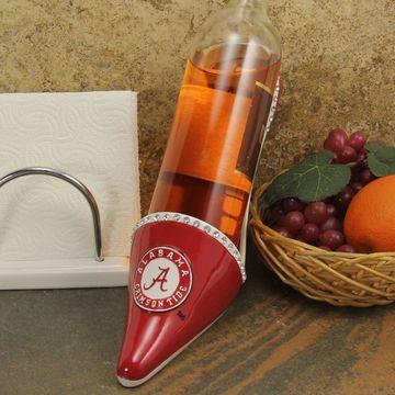 Alabama Crimson Tide High Heel Shoe Bottle Holder - Crimson