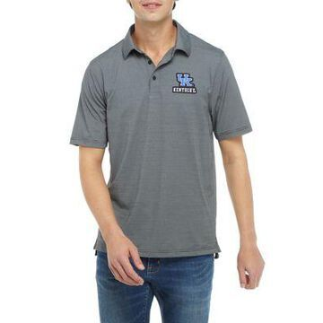 Top Of The World Men's Ncaa Kentucky Wildcats Short Sleeve Yarn Dyed Striped Polo Shirt - -