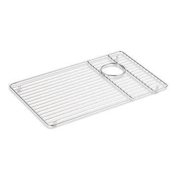 KOHLER 14.31-in x 22.56-in Stainless Steel Sink Grid   K-9137-ST