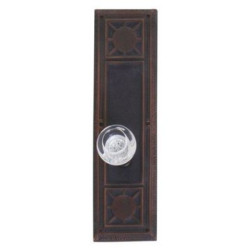 Nantucket Passage Door Set, Venetian Bronze, 3-3/4