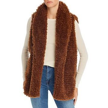 Echo Teddy Faux Fur Vest - 100% Exclusive