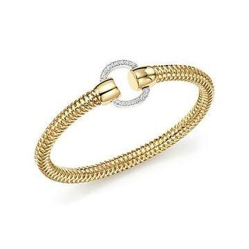 Roberto Coin 18K Yellow and White Gold Primavera Diamond Bracelet