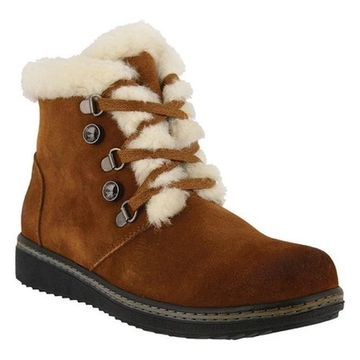 Spring Step Women's Tristan Boot Camel Suede