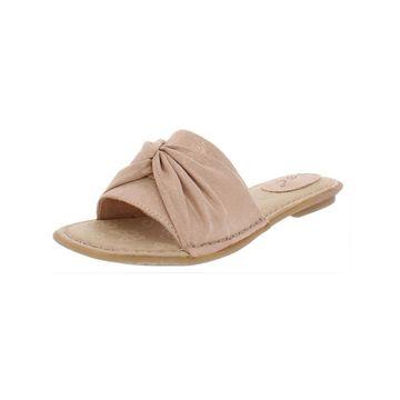 B.O.C. Womens Hayley Slide Sandals Flats