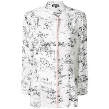 Serengeti print shirt
