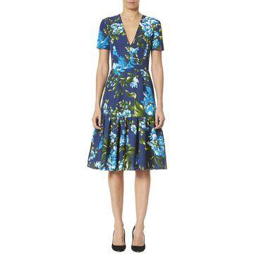 Carolina Herrera Ruffle Dress