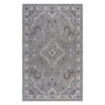 Traditional Gray Rug, 9'x12', Valintino VN102A
