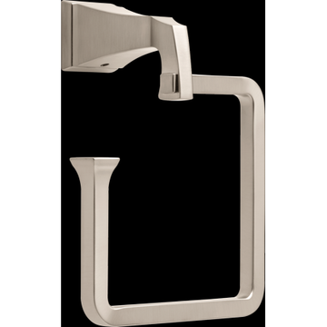 Delta Dryden Towel Ring, Stainless