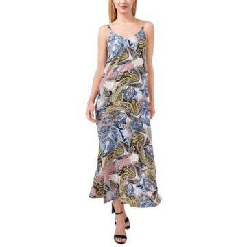 Msk Printed Maxi Dress