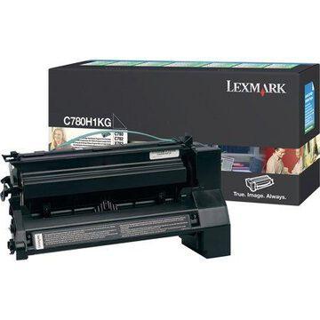 Lexmark C780H1KG C780/C782 Black Return Program Cartridges, 10,000 standard pages