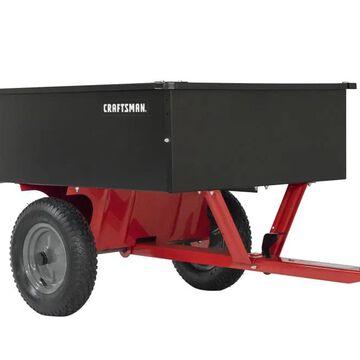 CRAFTSMAN 12-cu ft Steel Dump Cart | CMX-GZ-BF-71-24355