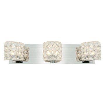 Access Lighting Prizm 3-Light Vanity - Chrome