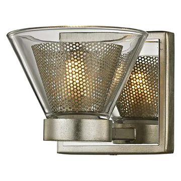 Troy Wink 1-LT Wall Light Bath Light B5831 - Silver Leaf