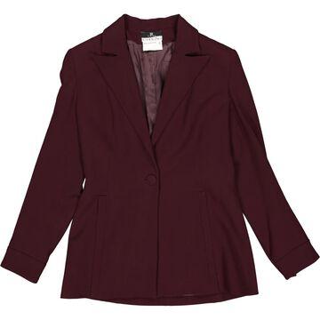 Givenchy Burgundy Wool Jackets
