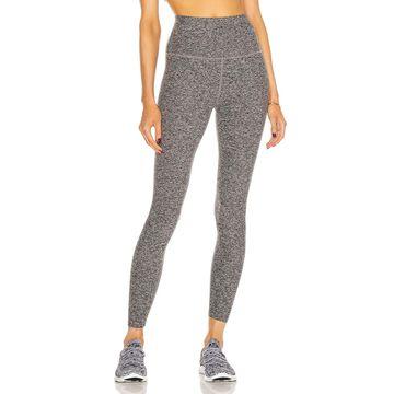 Beyond Yoga Spacedye Caught In The Midi High Waisted Legging in Black & White   FWRD