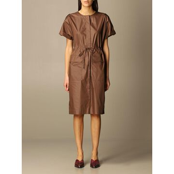 Peserico dress with drawstring