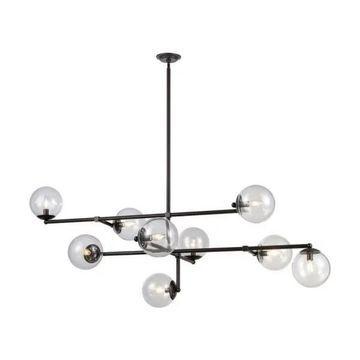 Dimond Lighting Communique - Nine Light Chandelier