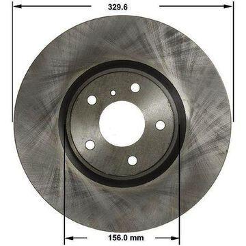 Front Brake Rotor, PRT5815