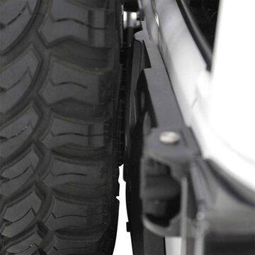 Smittybilt Pivot Heavy-Duty Oversize Tire Carrier (Black) - 2843