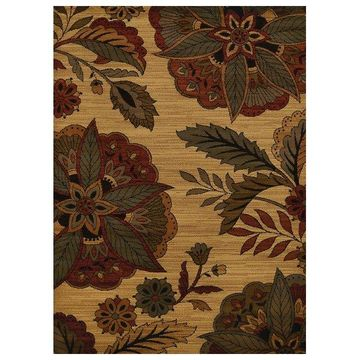 United Weavers Affinity Embroidered Floral Area Rug