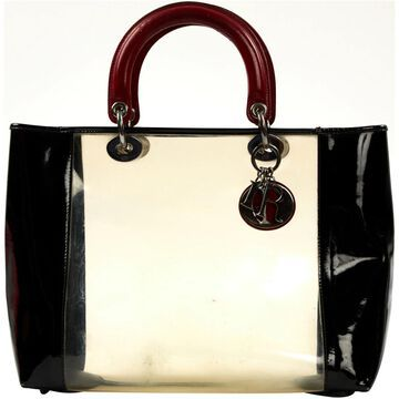 Dior Lady Dior Multicolour Patent leather Handbags