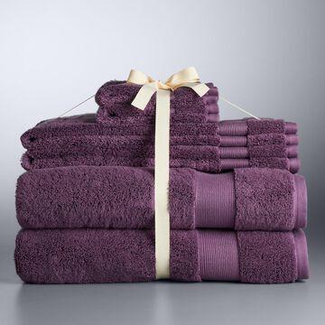Simply Vera Vera Wang 6-piece Egyptian Cotton Bath Towel Set