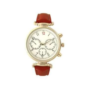 Olivia Pratt Womens Red Strap Watch-16557