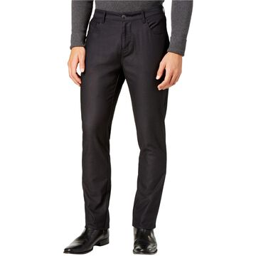 Ryan Seacrest Distinction Mens Slim Fit Dress Pant Slacks