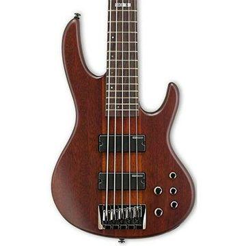 ''ESP LTD D-5 5 String Electric Bass Guitar, Natural Satin''