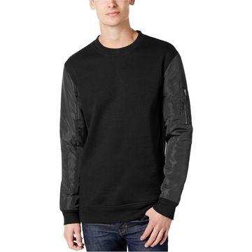 American Rag Mens Nylon Sleeve Sweatshirt