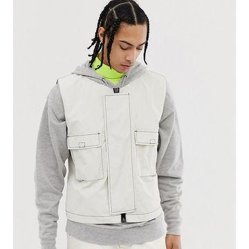 Noak technical vest In off white