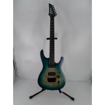 Used SIX6FDFM Solid Body Electric Guitar Blue Space Burst