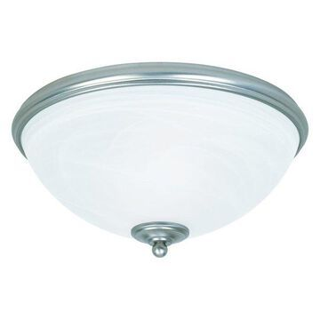 Savoy House Willoughby Flush Mount, Pewter