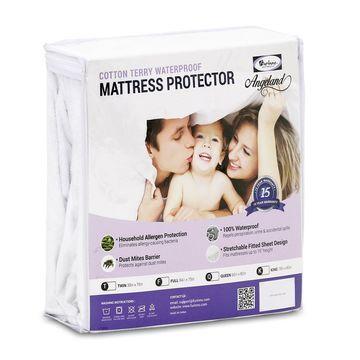 Furinno Angeland Waterproof Terry Cloth Mattress Protector