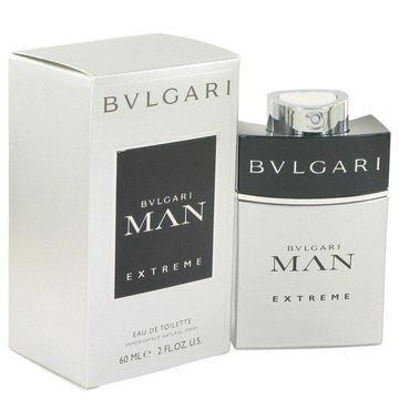 Bvlgari Man Extreme by Bvlgari Eau De Toilette Spray 2 oz for Men (Package of 2)