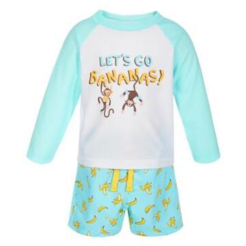 First Impressions Baby Boys 2-Pc. Monkey Rash Guard Set, Created for Macy's