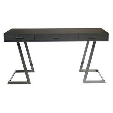 Armen Living Juniper Contemporary Desk