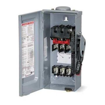Square D By Schneider Electric HU363NRB 100 Amps AC 600VAC Single Throw Safety