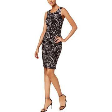 Kasper Womens Lace Mini Party Dress